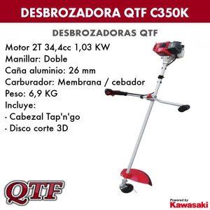 Desbrozadora QTF C350K KAWASAKI