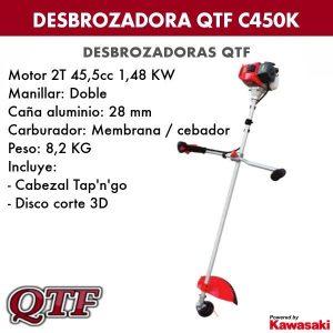 Desbrozadora QTF C450K KAWASAKI