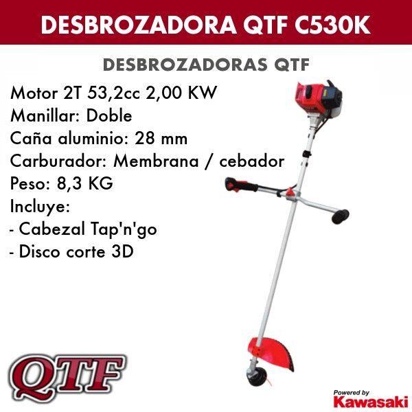 Desbrozadora QTF C530K KAWASAKI