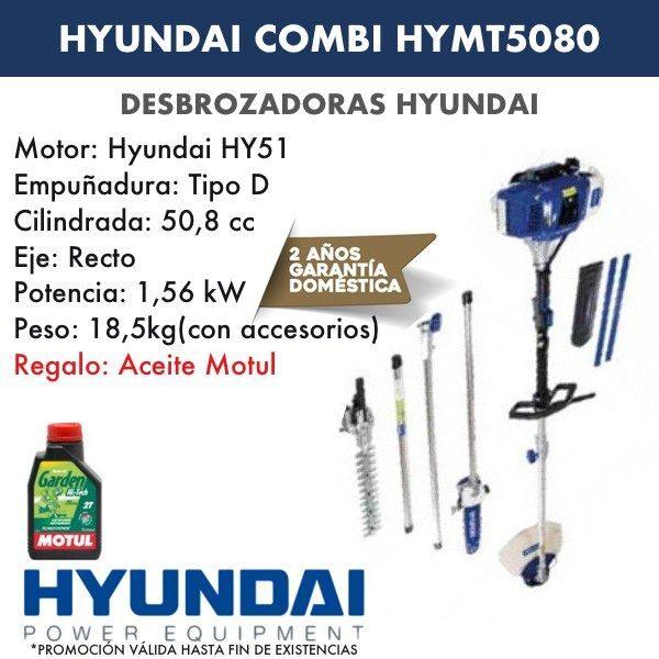 Desbrozadora combi HYMT5080 HYUNDAI-1