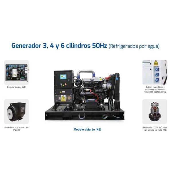 Generadores Hyundai DHY14K(S)E diesel trifásicos