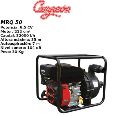 Motobomba gasolina Campeon MRQ 50