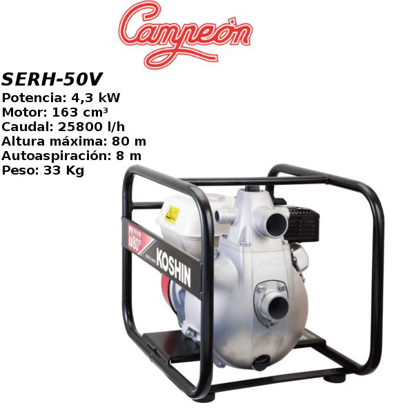Motobomba gasolina Campeon SERH50V
