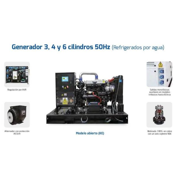 Generadores electricos Hyundai DHY11K(S)E