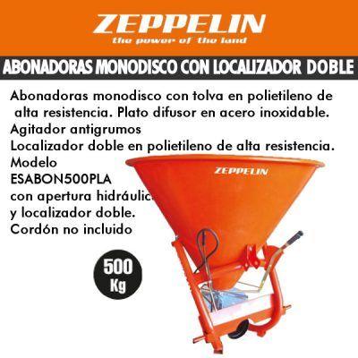 Abonadoras monodisco con localizador doble zeppelin