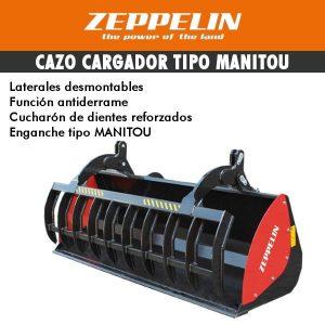 Cazo cargador tipo Manitou zeppelin