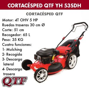 Cortacesped QTF YH 53 SDH