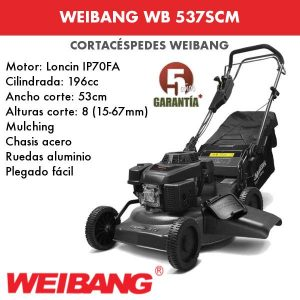 Cortacesped WEIBANG WB 537 SCM
