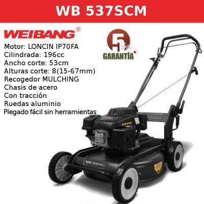 Cortacesped Weibang WB 537SCM