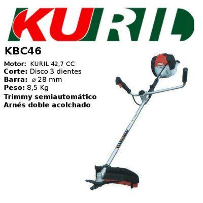 Desbrozadora Kuril KBC46
