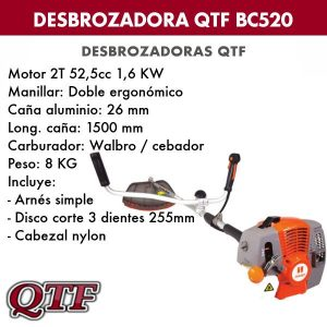 Desbrozadora QTF BC 520