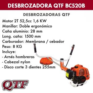 Desbrozadora QTF BC 520B