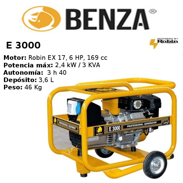 generador-benza-E 3000