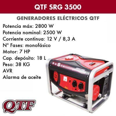 Generador electrico QTF SRG 3500