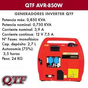 Generador QTF AVR850 W