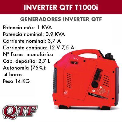 Generador inverter QTF T1000i
