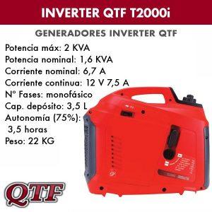 Generador inverter QTF T2000i