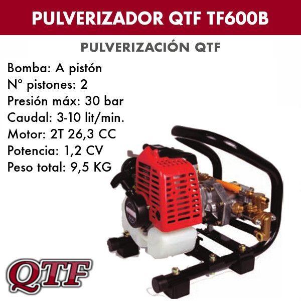 Grupo pulverizacion QTF 600 B