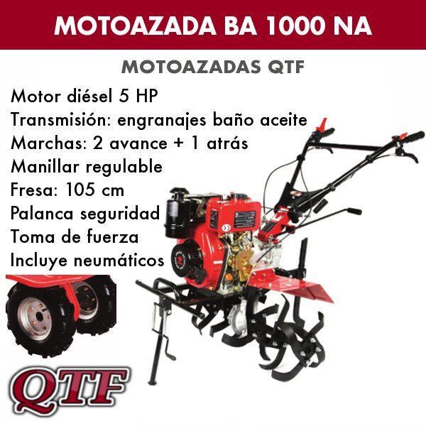 Motoazada diesel QTF BA1000 NA