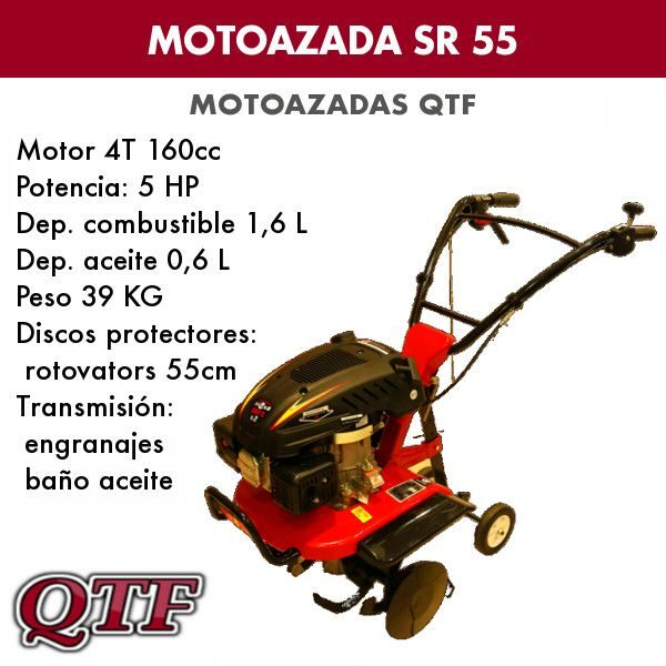 motoazada gasolina QTF55