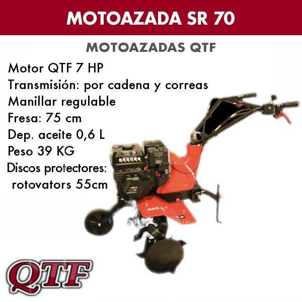 Motoazada gasolina QTF70 7HP