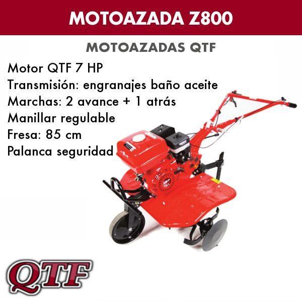 Motoazada gasolina QTFZ800