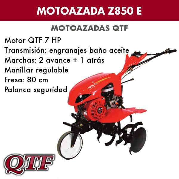 Motoazada gasolina QTFZ850 E