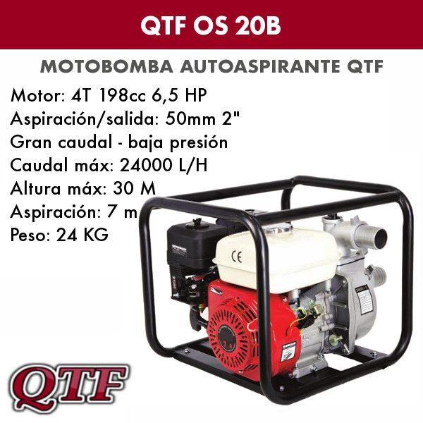 Motobomba QTF OS 20B