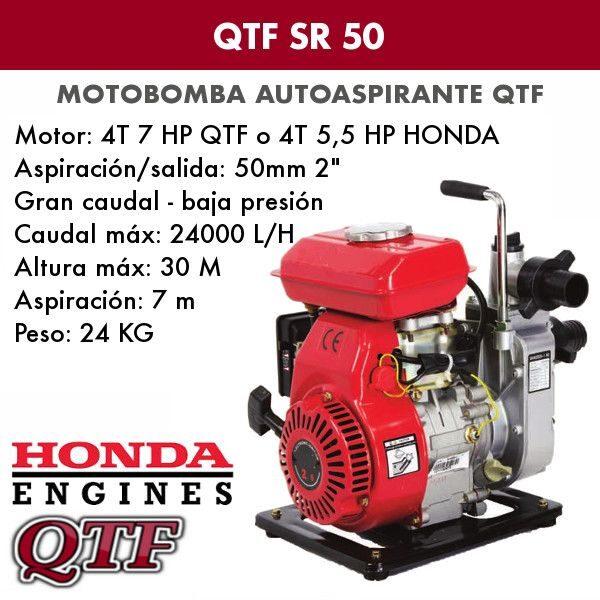 Motobomba QTF SR 50