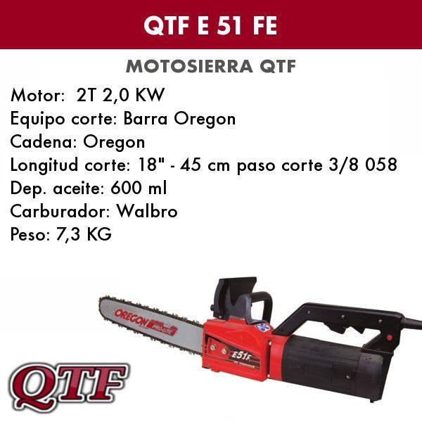 Podadora QTF E 51 E YUMIS