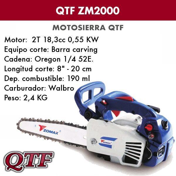 Motorsierra QTF ZM 2000 YUMIS