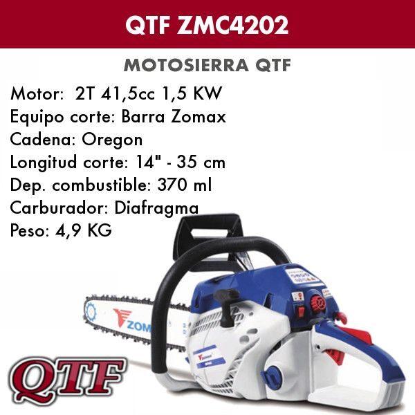 Motosierra QTF ZMC 4202