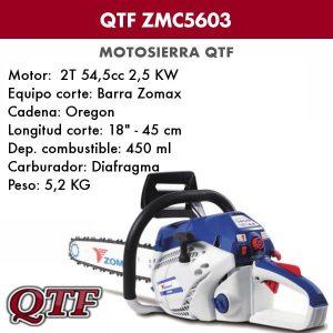 Motosierra QTF ZMC 5603