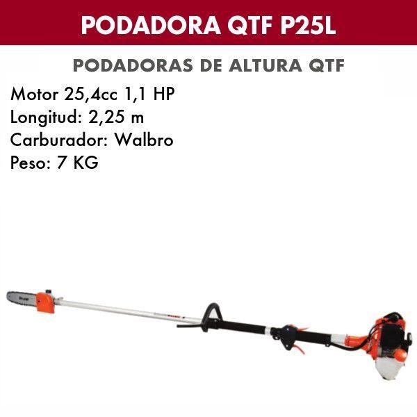Podadora de altura QTF P 25 L