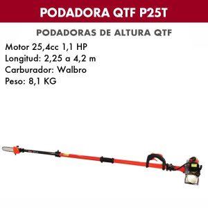 Podadora de altura QTF P 25 T