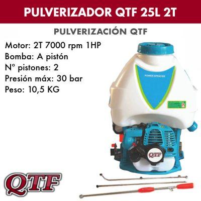 Pulverizador QTFBS768K 25L