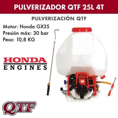 Pulverizador QTF 900 HONDA 25L