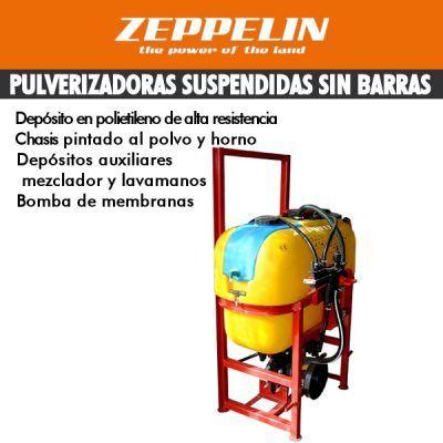 Pulverizadores suspendidas sin barras