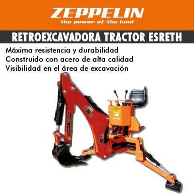 Retroexcavadora tractor ESRETH