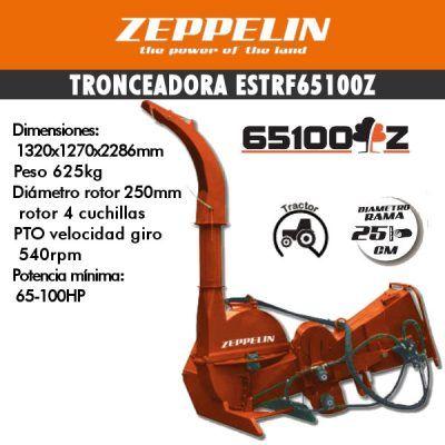 Trituradora de ramas ESTRF65100Z
