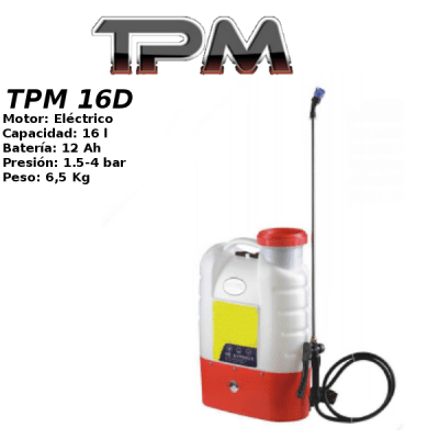 Sulfatadora TPM 16D