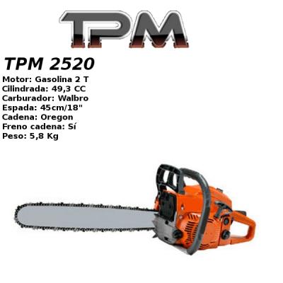 Motosierra Gasolina TPM 2520