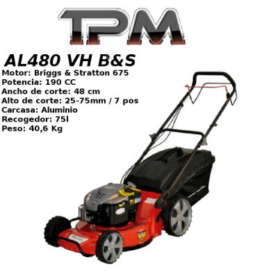 Cortacesped TPM AL480 VH B&S