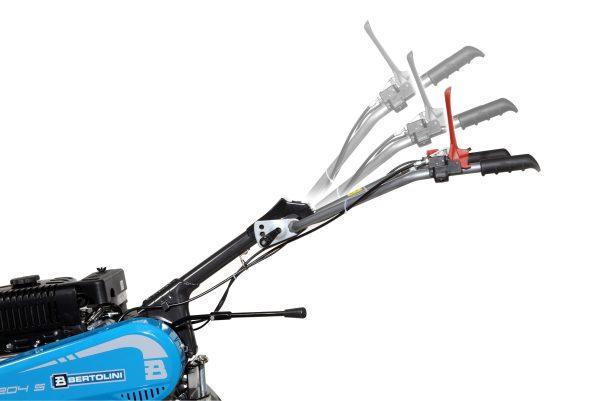 Motoazada BERTOLINI 205 S + aporcador, ruedas y portaperos 182cc