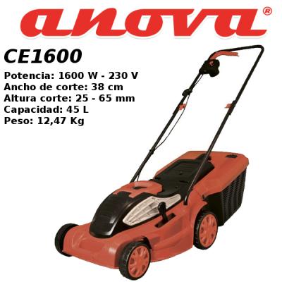 Cortacesped eléctrico Ikra Anova CE1600