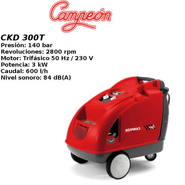 Hidrolimpiadora Campeon CKD 300T