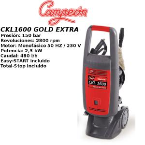 Hidrolimpiadora Campeon CKL1600 GOLD EXTRA