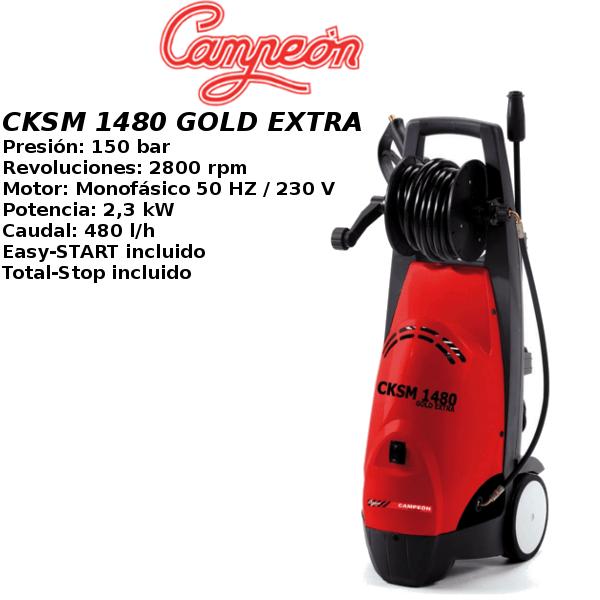 Hidrolimpiadora Campeon CKSM 1480 GOLD EXTRA