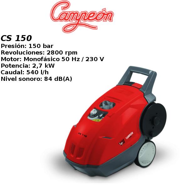 Hidrolimpiadora Campeon CS 150