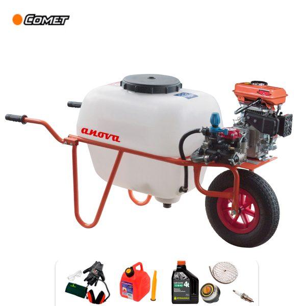 Carretilla sulfatadora 100 litros Anova P100-1 Bomba COMET 4T 79 cc